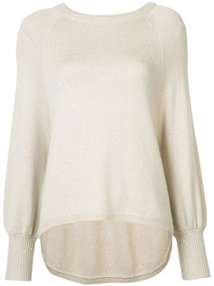 crew neck jumper Brunello Cucinelli