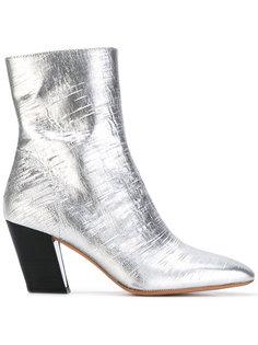 сапоги по щиколотку на скошенных каблуках Iro