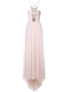 платье с декором из бусин Monique Lhuillier