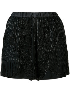 beads embroidery shorts Loyd/Ford