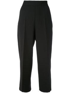 широкие укороченные брюки Blugirl