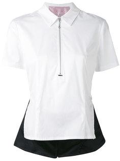 zipped peplum blouse  Alyx