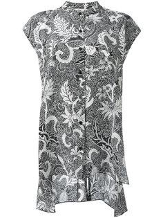 блузка с узором Diane Von Furstenberg