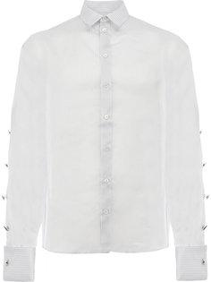 полосатая рубашка с пуговицами на рукавах Y / Project