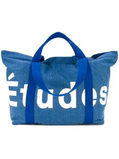 сумка-тоут с логотипом Études