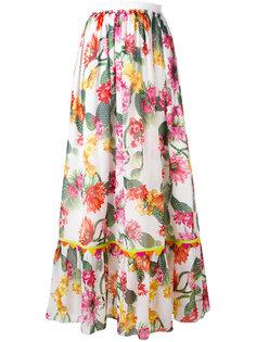 юбка с цветочным рисунком Blugirl