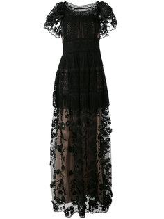 embroidered gown  Alberta Ferretti
