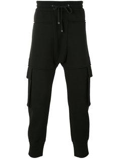 спортивные штаны с карманами Helmut Lang