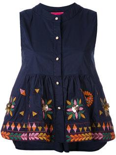 блузка на пуговицах Muguet  Amuse