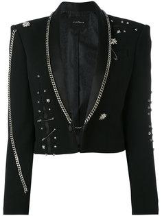 Fortim chain embellished jacket John Richmond