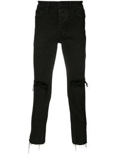 джинсы кроя скинни с потертой отделкой Ksubi