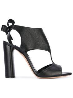 босоножки на каблуках с вырезными деталями Casadei