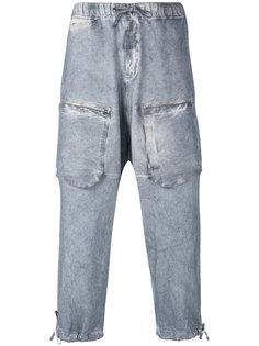 брюки с заниженной проймой Stone Island Shadow Project