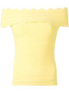 блузка с открытыми плечами Claudita  Amuse