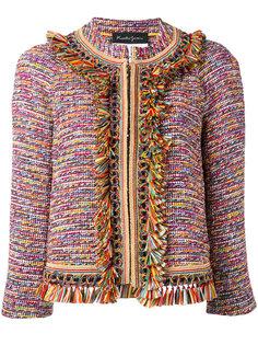 frayed tweed jacket  Rossella Jardini