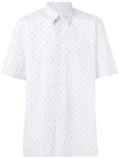 рубашка с узором из квадратов Jil Sander