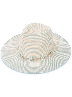 шляпа в полоску Gigi Burris Millinery