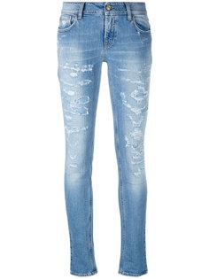джинсы скинни с потертой отделкой Cycle