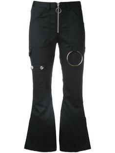 укороченные расклешенные брюки Marquesalmeida