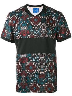 футболка с цветочным принтом Adidas Originals