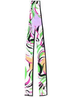 шарф дизайна колор-блок Emilio Pucci