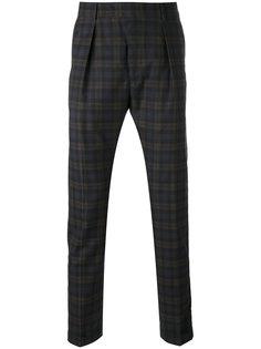 клетчатые брюки Paul Smith