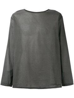 рубашка свободного кроя Lemaire