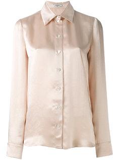 атласная блузка Lanvin