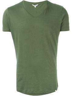 футболка с V-образным вырезом Orlebar Brown