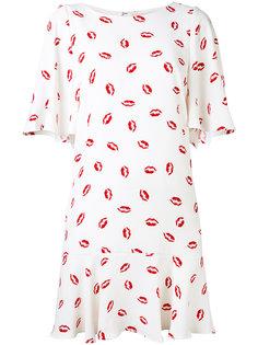 платье с принтом губ Essentiel Antwerp