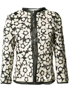 lotus lattice short jacket Caban Romantic