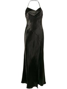 платье с глубоким разрезом Leticia Attico