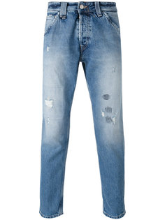 distressed cropped jeans Cycle