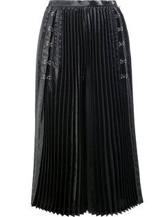 укороченные плиссированные брюки Comme Des Garçons Noir Kei Ninomiya