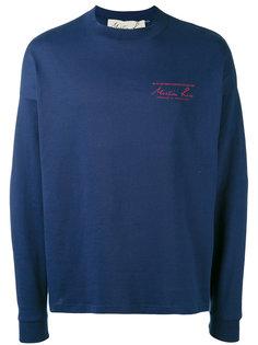 embroidered sweatshirt Martine Rose