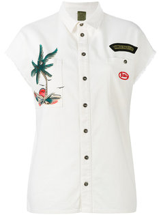 palm print shirt Mr & Mrs Italy