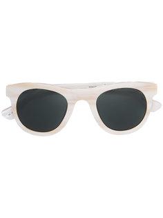 солнцезащитные очки круглой формы Linda Farrow