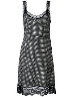 платье на бретелях с кружевной отделкой Paul & Joe