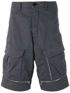 шорты карго с отделкой молниями Stone Island Shadow Project