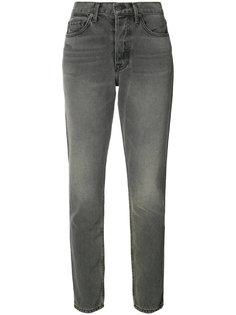 джинсы скинни с выбеленным эффектом Grlfrnd