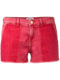 укороченные шорты Frame Denim
