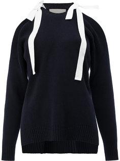 свитер с завязками на плечах Monse
