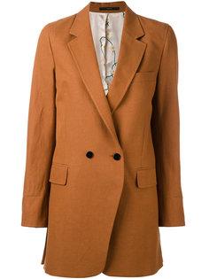 двубортное пальто миди Paul Smith