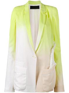 пиджак с градиентным эффектом Haider Ackermann