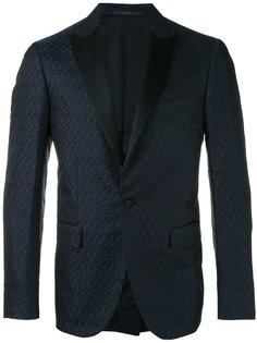 пиджак-смокинг с принтом в горох Pal Zileri