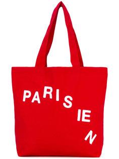 сумка-тоут Parisian Maison Kitsuné
