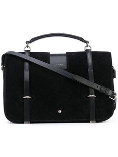 сумка-сэтчел с ремешками Saint Laurent