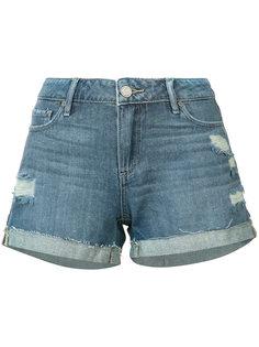 рваные джинсовые шорты Paige