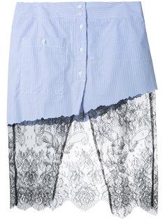 lace detail skirt Filles A Papa