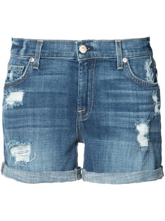 джинсовые шорты  7 For All Mankind